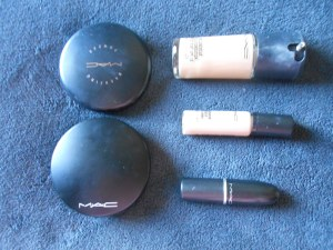 Products I used for my face